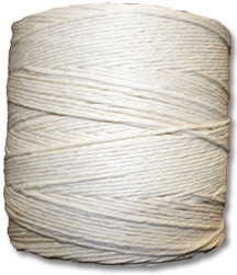 "4512 - 12 Strand Bleached Hemp ""Worsted Weight"" Yarn"