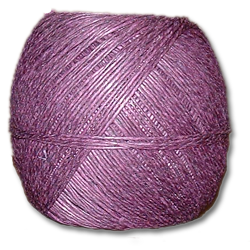 4000PU - Purple 20 lb. (±1mm) Polished Hemp Twine