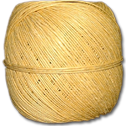 4000YW - Yellow 20 lb. (±1mm) Polished Hemp Twine