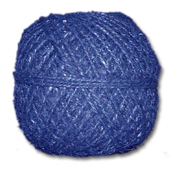 4100BL - 20 lb. Unpolished Blue Hemp Twine