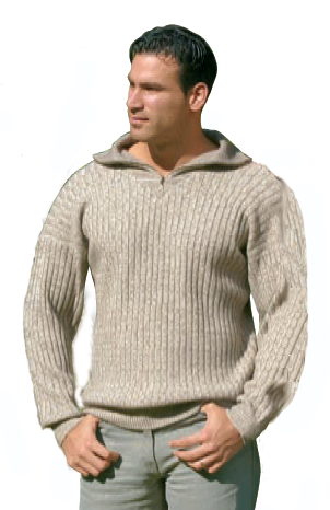 DH317 - Hemp and Yak Wool Sweater