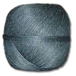 4000BK - Black 20 lb. (±1mm) Polished Hemp Twine