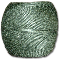4000GR - Green 20 lb. (±1mm) Polished Hemp Twine
