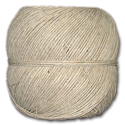 4213 - 20 lb. (±1mm) Natural Hemp Twine