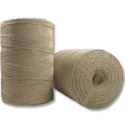 4215 - 1 Kg 20 lb. (±1mm) Natural Hemp Twine