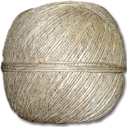 4222 - 48 lb. (±2mm)  Natural Hemp Twine