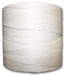 "4506 - 6 Strand Bleached Hemp ""Double Knit Weight"" Yarn"