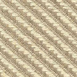 D4161 - Natural/Bleached Hemp Diagonal Basket Weave