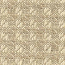 D4165 - Natural Bleached Hemp Checked Weave
