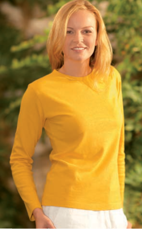 DH207 - Hemp and Organic Cotton Long Sleeve Shirt