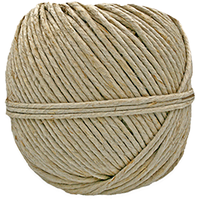 4300 - 170 lb. (±3.5mm) Natural Hemp Twine
