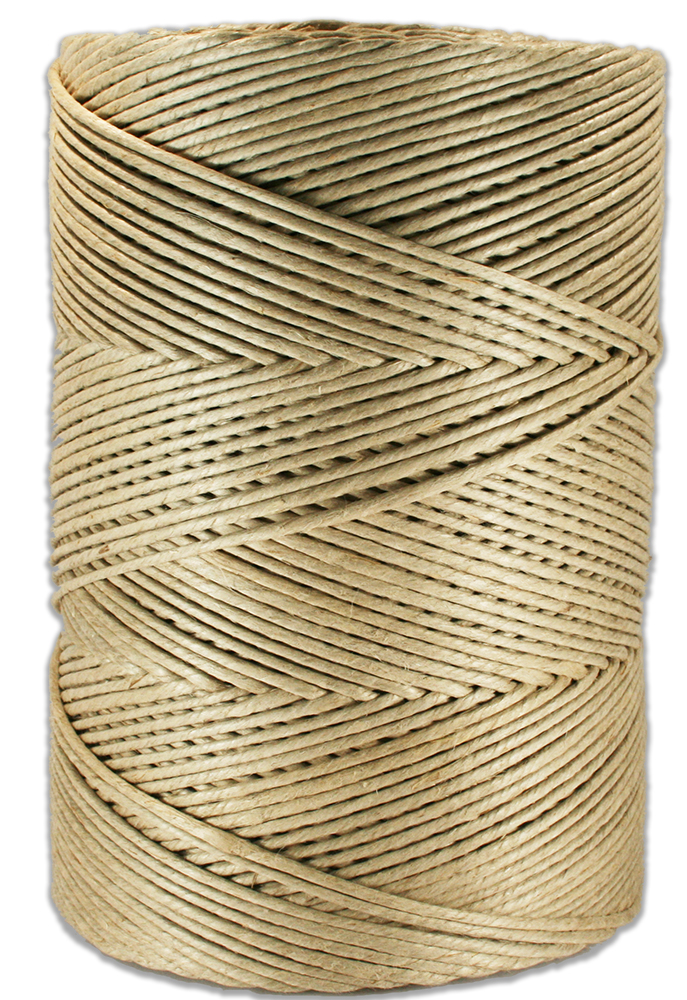 4310 - 10 lb Spool 170 lb. Natural Hemp Twine