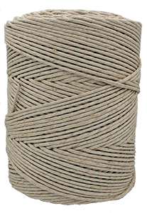 4305 - 5 lb. Spool 170 lb. (±3.5mm) Natural Hemp Spring Twine