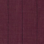 R311BU - Burgundy Hemp Pinstriped Plain Weave