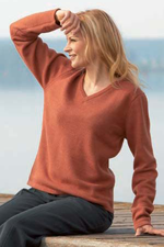 DH321 - Hemp and Wool Ladies Sweater
