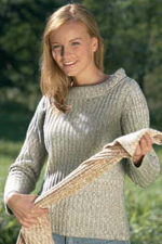 DH316 - Hemp & Yak Boat Neck Sweater